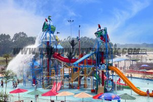 Maldives Waterpark in Yulin Cit