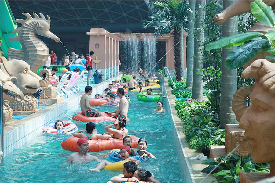Mi Cube Water Park In Tianjin City Submarine Civilization