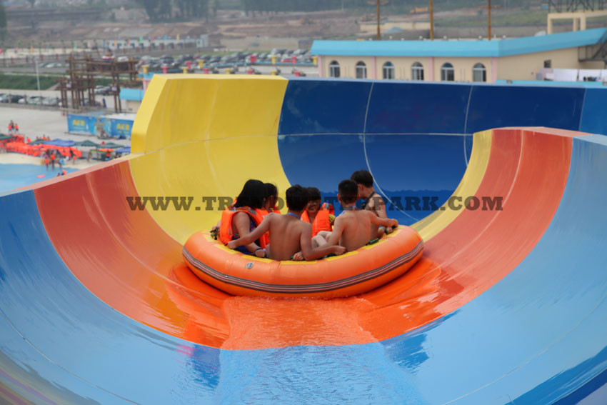 Family Rafting Water Slide (HT-44)_Build a water park