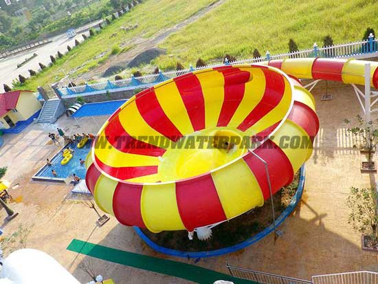 Outdoor Space Bowl water slides for pool (HT-41)